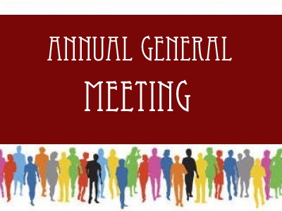 Annual General Meeting</br>on Wed 22 November 2017</br>Starts at 19:30